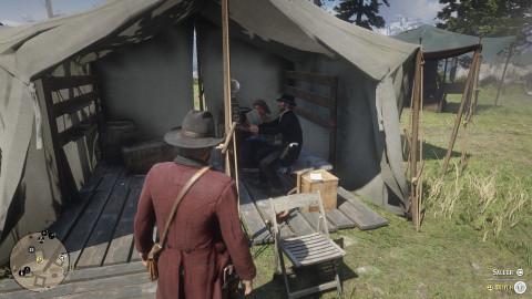 Les activités du camp : améliorer le moral du gang