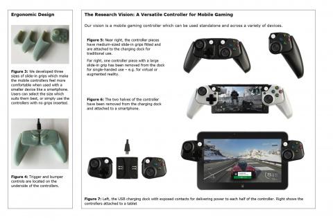 Microsoft nous montre un concept de manette pour smartphone