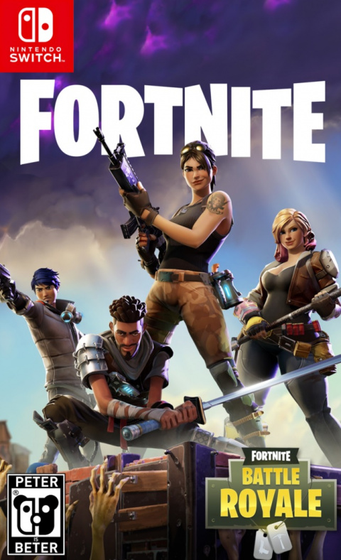 Fortnite Battle Royale sur Switch