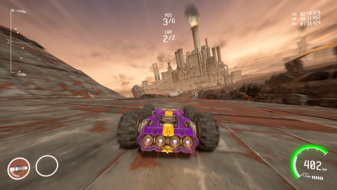 GRIP Combat Racing : un délicieux trip rétro