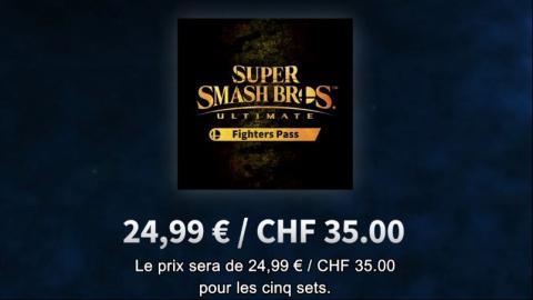 Super Smash Bros. Ultimate : cinq DLC et un Fighters Pass annoncés