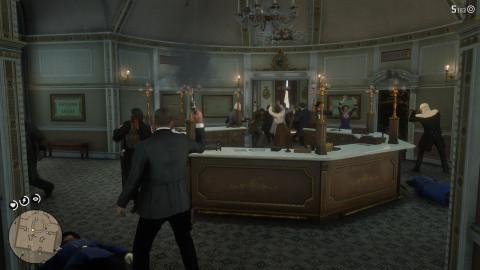 La banque, cet ancien art américain