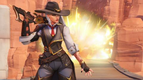 Overwatch : Notre avis sur Ashe, la nouvelle héroïne explosive du jeu - BlizzCon 2018