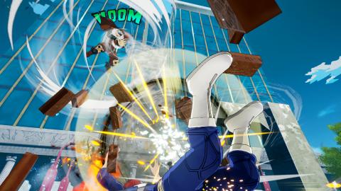 My Hero : One's Justice - Inasa Yoarashi file comme le vent en DLC