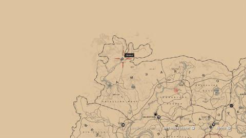 """Localisation des 9 tombes (trophée/succès """"Hommage"""")"""