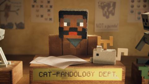 Minecraft : Une bande-annonce kawaii pour Cats & Pandas - X018