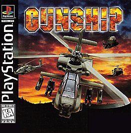 Gunship sur PS1