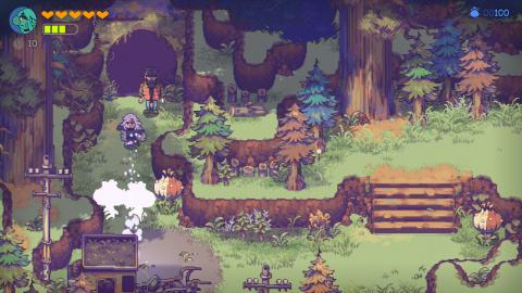 Eastward : Le jeu d'aventure pixelisé de Chucklefish dévoile sa date de sortie