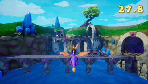 Spyro Reignited Trilogy : une version Switch listée chez Gamestop Allemagne