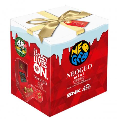 [MàJ] Neo Geo Mini : un modèle pour Noël avec 48 jeux (Fatal Fury 3, The Ninja Commando...)