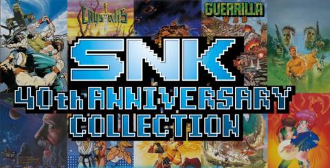 SNK 40th Anniversary Collection prépare sa sortie sur Nintendo Switch