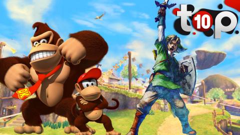 Top 10 des meilleurs jeux de la Wii