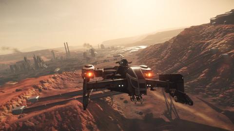 Star Citizen, patch alpha 3.3.5 : la première planète et la première ville sont en ligne