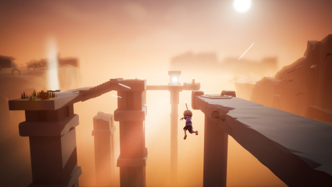 Omno : un jeu d'exploration / puzzle contemplatif qui fend les nuages
