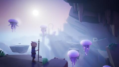 Omno : financé avec succès, le jeu d'exploration / puzzle livre une démo gratuite