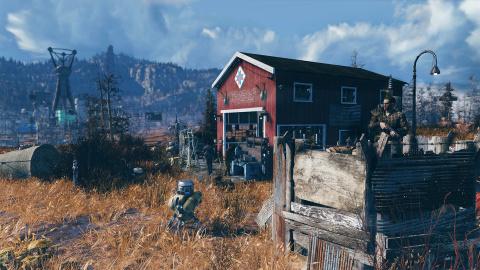 PS Store : Fallout 76, c'est de la bombe !