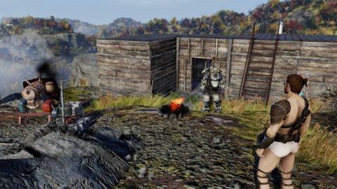 Fallout 76 : C.A.M.P, défense et interface de craft