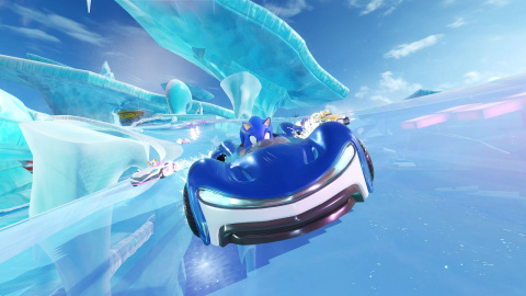 Team Sonic Racing : le niveau Market Place en musique