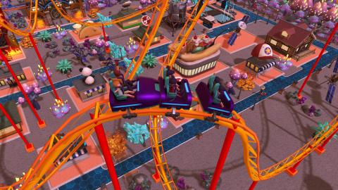 RollerCoaster Tycoon Adventures : ouvre son parc sur Switch