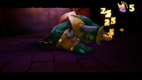 Boss : Combat contre Gnasty Gnorc