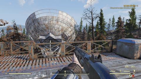Fallout 76 : Un abri en développement découvert par un joueur