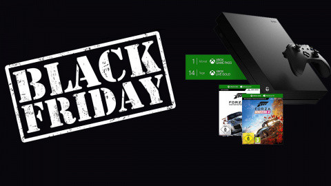 Black Friday : Une Xbox One X 1 To + Forza Horizon 4/Forza Motorsport 7 à 399 €