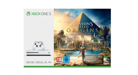 Black Friday : Pack Xbox One S + Assassin's Creed Origins à 179€
