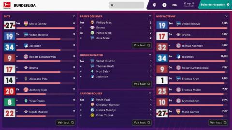 Football Manager Touch 2019 montre ses fonctionnalités