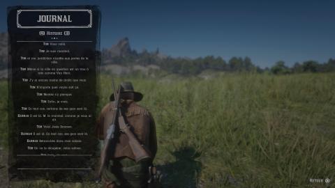 Le mode histoire / scénario de Red Dead Online