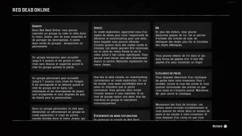 Tutoriels : Red Dead Online