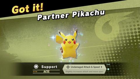 Super Smash Bros. Ultimate : Des partenaires débloqués grâce à Pokémon Let's Go