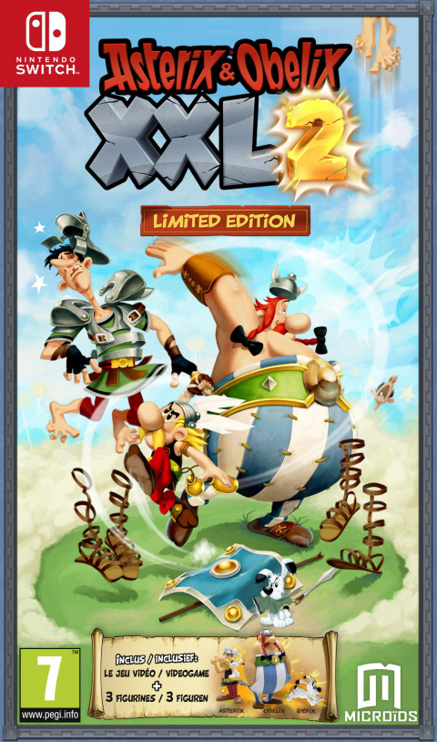Astérix & Obélix XXL 2 sur Switch