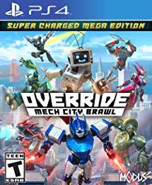 Override Mech City Brawl sur PS4