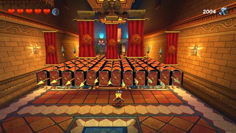 Salle des miroirs : Place du cinemarium