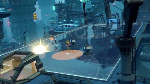 Steel Circus : un jeu de sport futuriste à la sauce MOBA