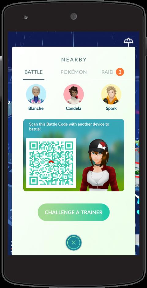 Pokémon GO : les combats de dresseurs disponibles en décembre