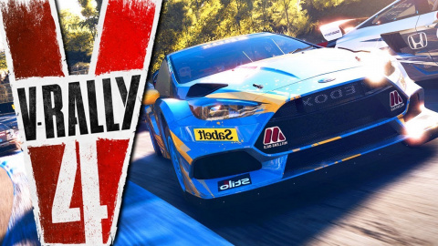 V-Rally 4 : un premier extrait de gameplay sur Nintendo Switch