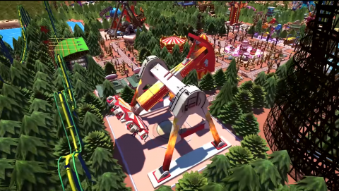RollerCoaster Tycoon Adventure : un épisode consternant sur Switch