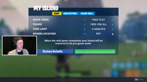 [MàJ] Fortnite : un troisième mode de jeu créatif à l'horizon
