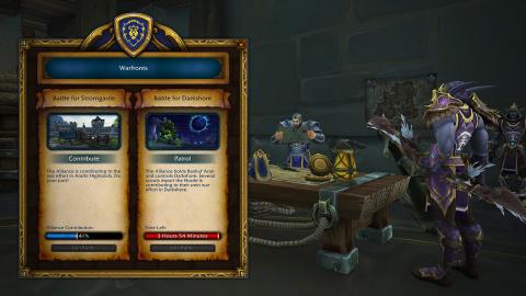WoW : Battle for Azeroth - Blizzard détaille le front de guerre de Sombrivage