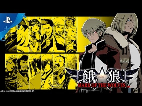 Garou : Mark of the Wolves sur Vita