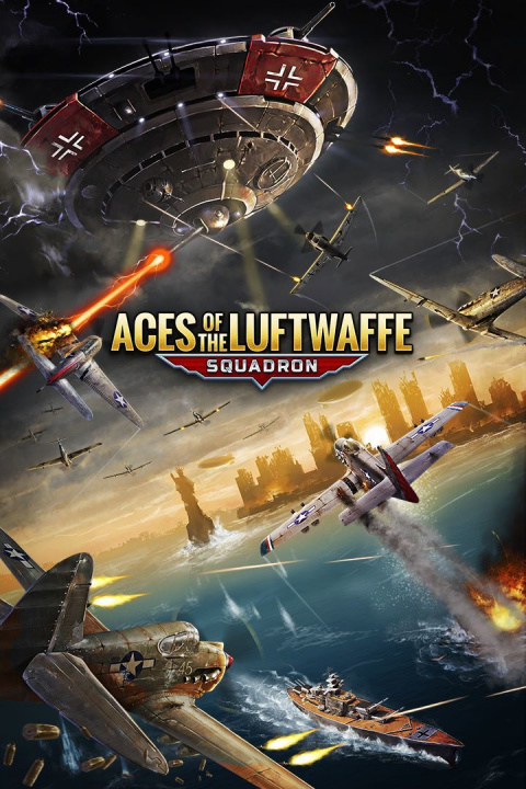 Aces of the Luftwaffe - Squadron sur Switch