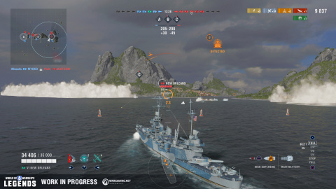 World of Warships : Legends prépare son premier weekend de bêta fermée