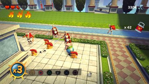 Combat contre les Césars et Boss #4