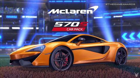 Game Awards 2018 : La McLaren 570s roule sur Rocket League
