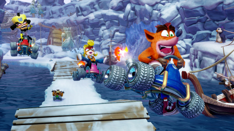 Nitro-Fueled, remake de CTR, dévoilé en vidéo — Crash Team Racing