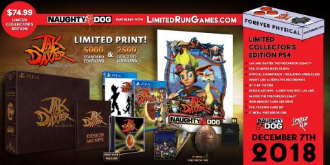 Jak and Daxter : The Precursor Legacy - Une édition physique limitée chez Limited Run