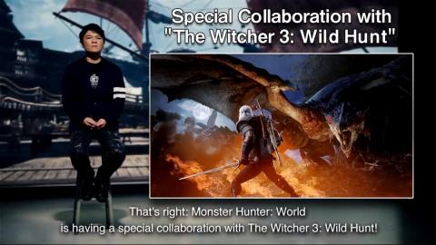 Monster Hunter World : Geralt De Riv prendra part à la chasse, l'extension majeure Iceborne annoncée