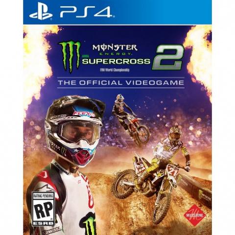 Monster Energy Supercross 2 sur PS4