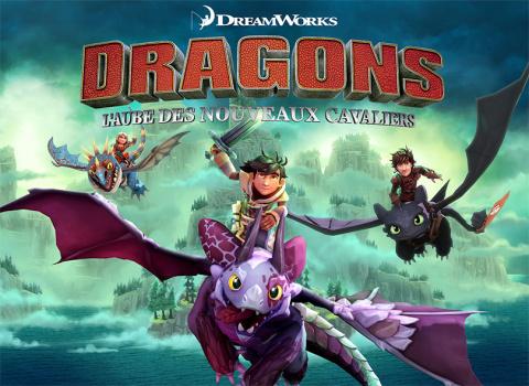 Dragons L'Aube Des Nouveaux Cavaliers sur ONE